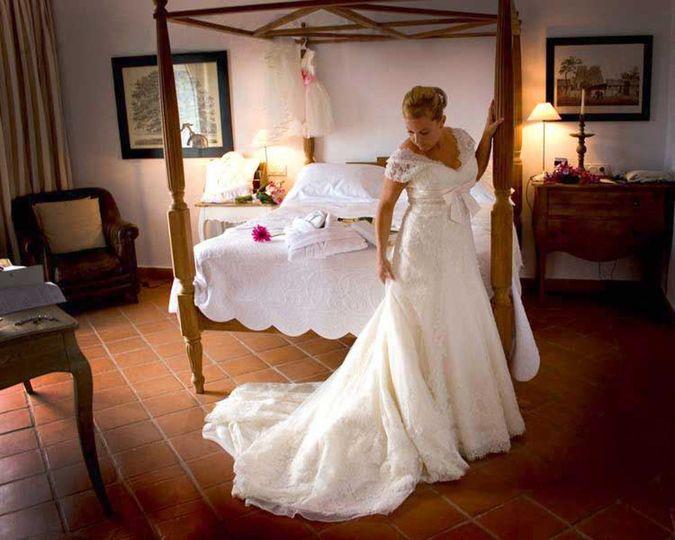 Bride before