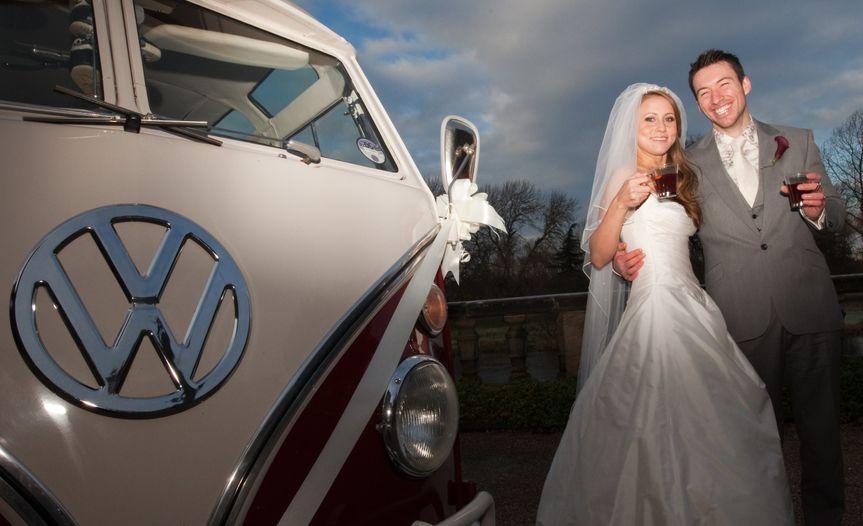 VW days wedding hire Derby
