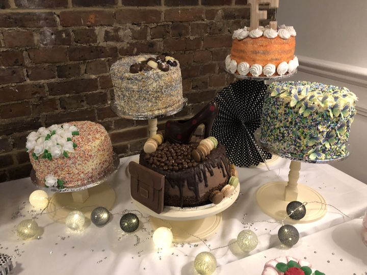 Cakes at the wedding