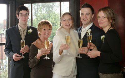 A wedding reception in Tunbrid