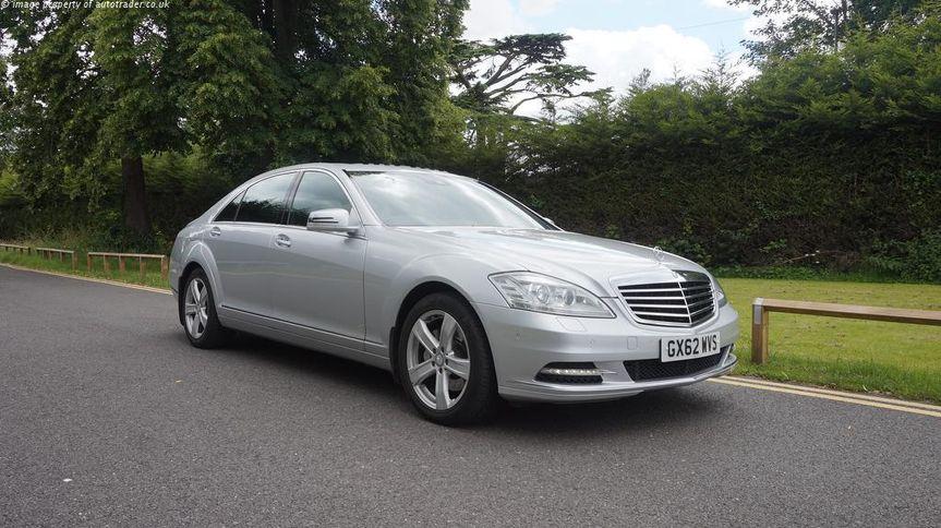Executive Mercedes wedding car