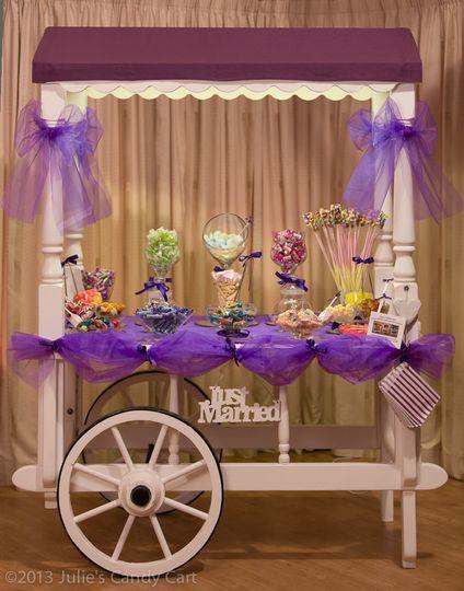 Purple cart