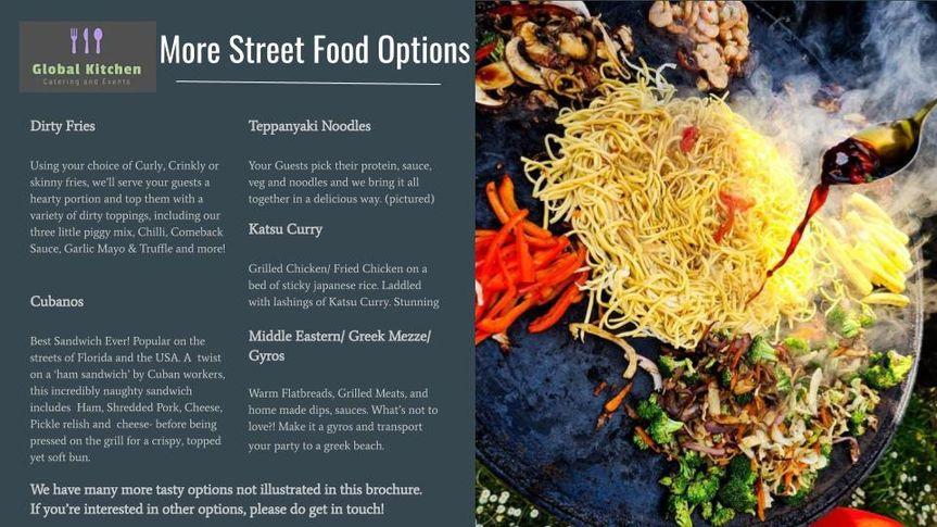 More Street Food Options