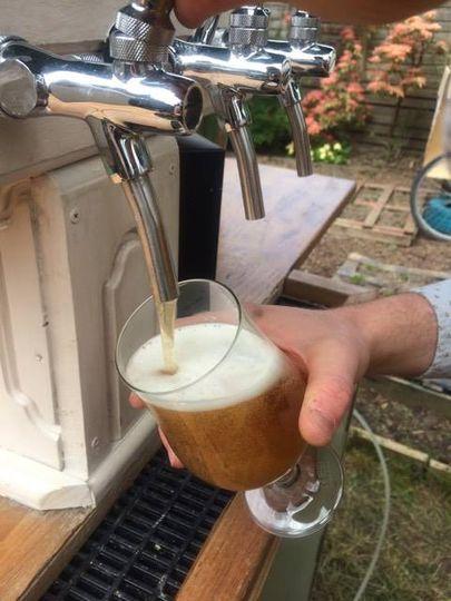 Rustic Belgian inspired taps