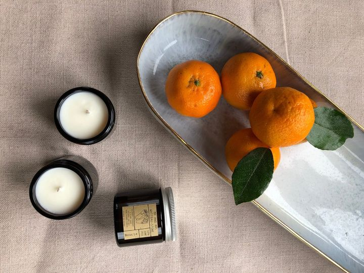 Mini-candle favours