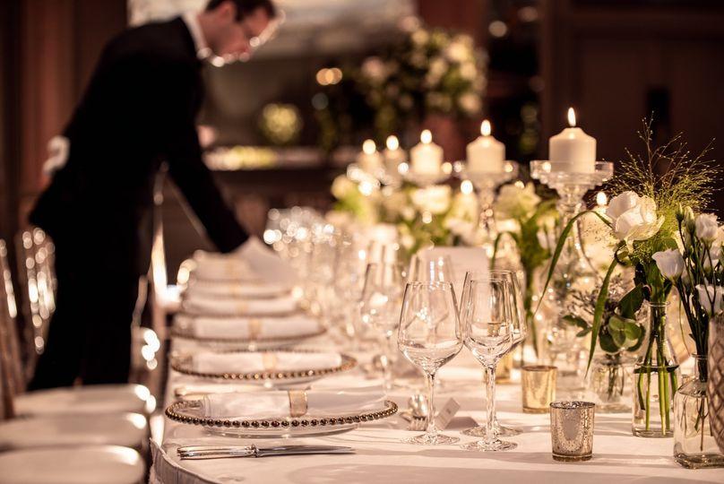 The Chartwell Ballroom setup - Hyatt Regency London - The Churchill