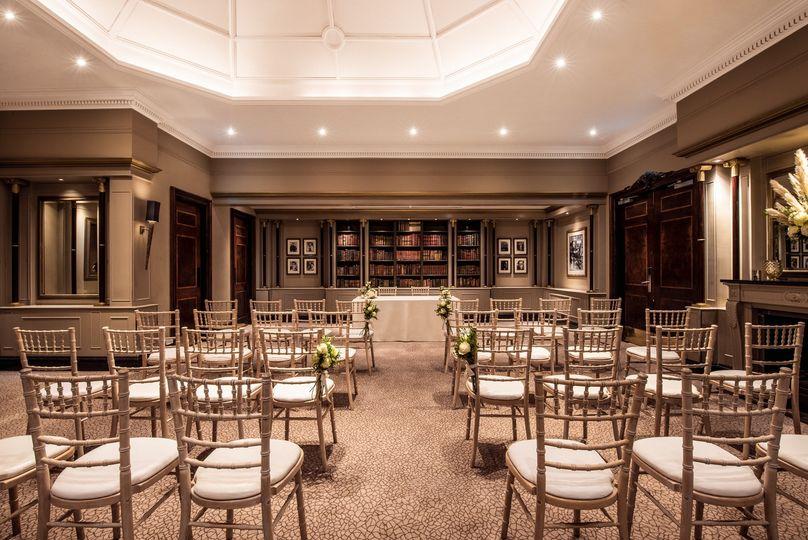 The Library - Hyatt Regency London - The Churchill