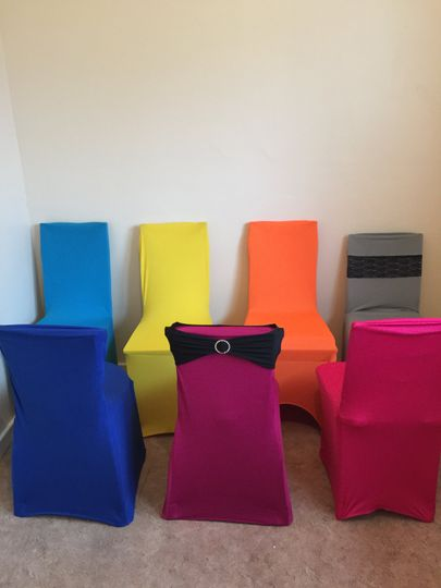 Different chair covers