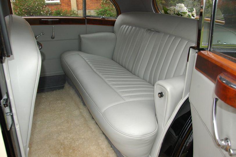 1952 R-R Interior