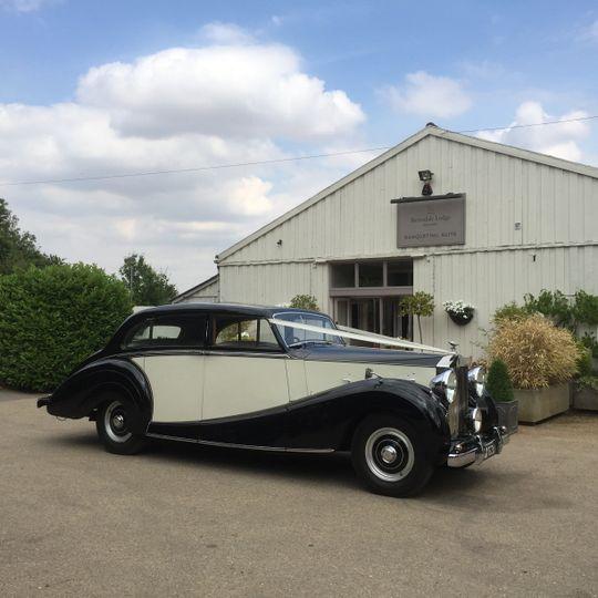 1952 Rolls-Royce Sports Saloon
