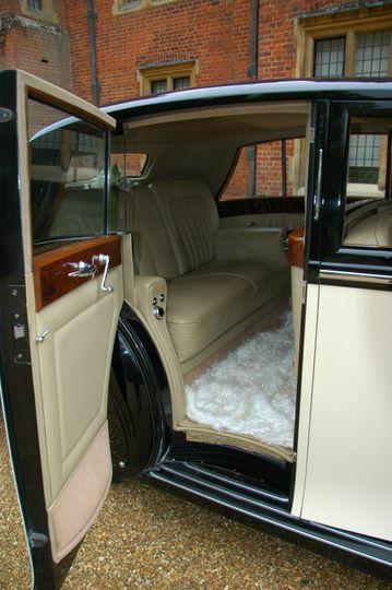 1949 Rolls-Royce interior