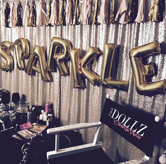 Dollz Glitter Bar