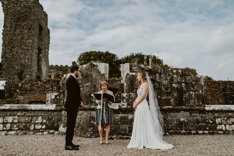 An Irish castle wedding