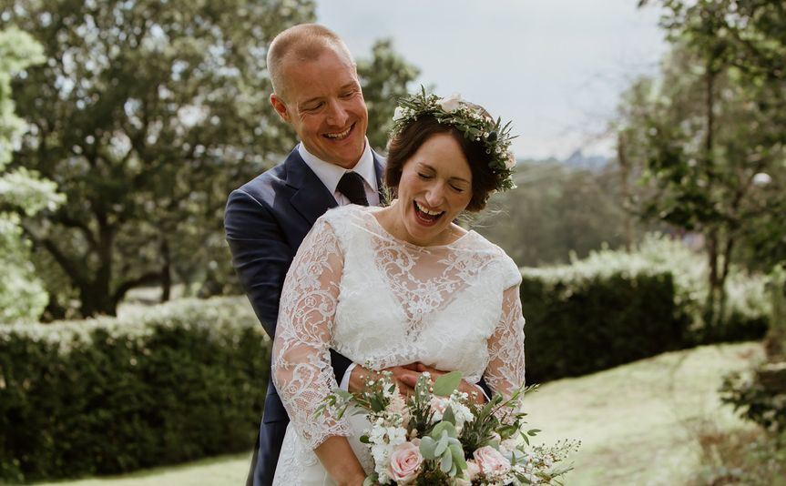 Garden wedding Leeds