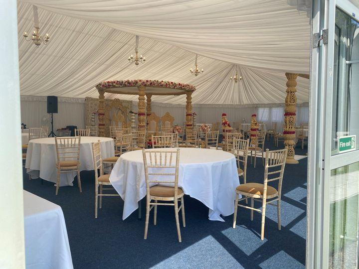 Pavilion - Mandap Setup