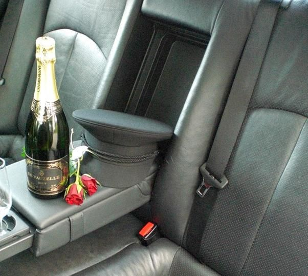 Interior with chauffeur hat