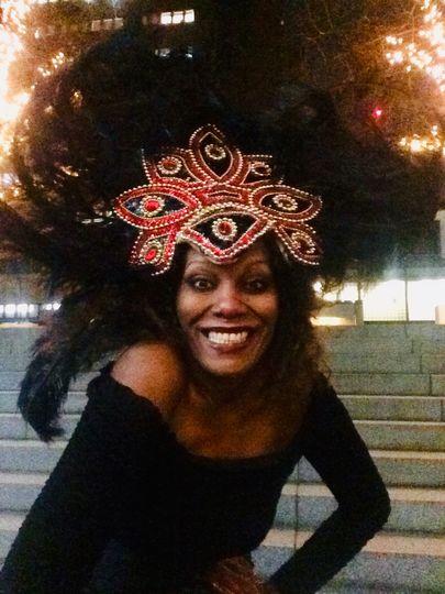 Samba head dress 4