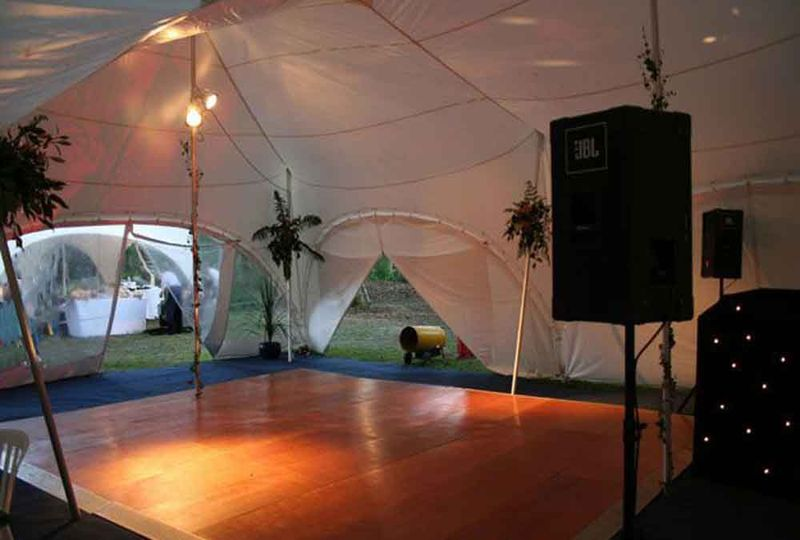 Party marquees hire