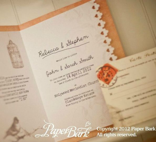 Copyright owned by Paper Bark Ltd 2012