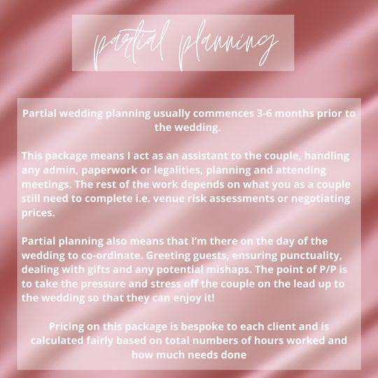 Partial planning