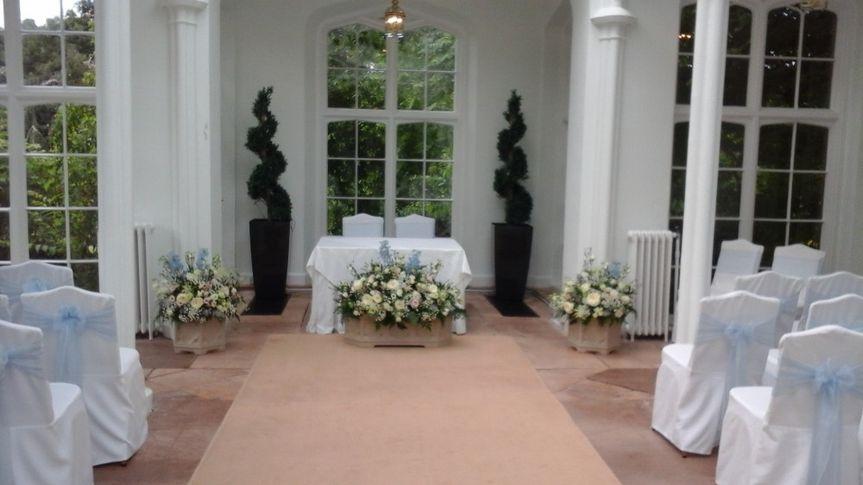 Ceremony décor