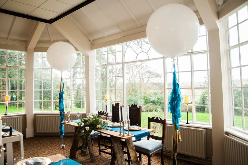 Makeney Hall with Dottie and Love Balloons