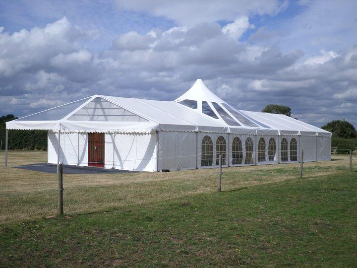 9m pavillion canopy