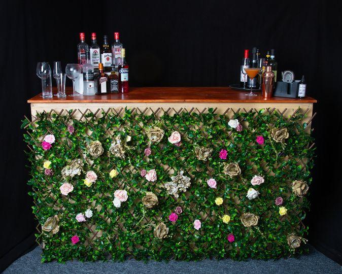 Flower Panel Bar