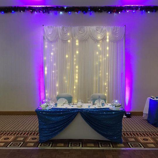 Sweet Heart Table - Wedding