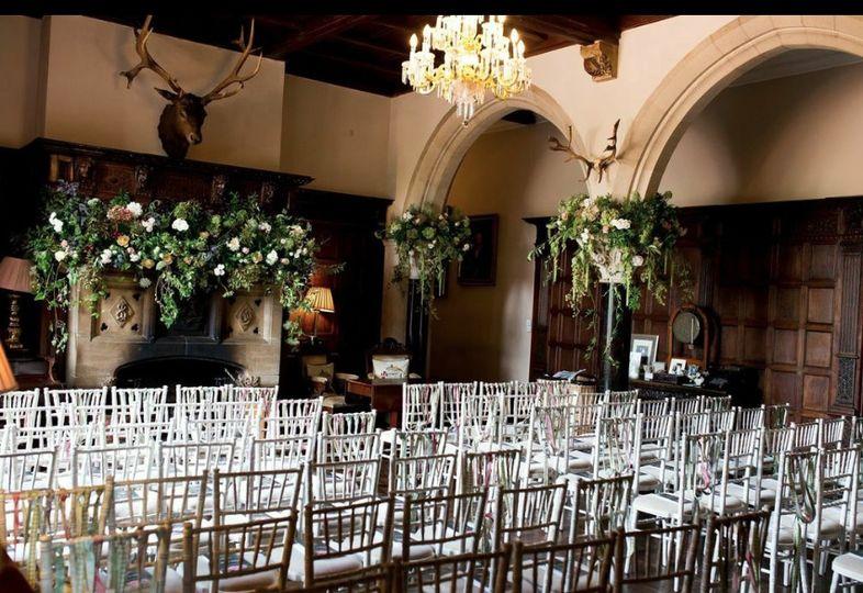 Huntsham Court - Great Hall ceremony