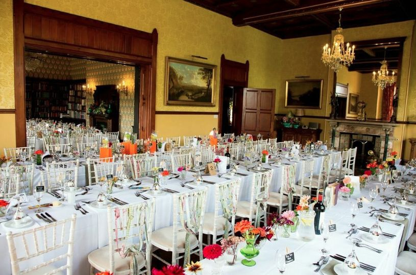 Huntsham Court - banqueting for 120 guests
