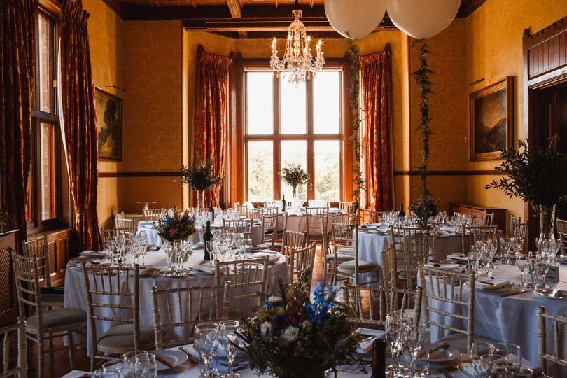 Huntsham Court - The Yellow room