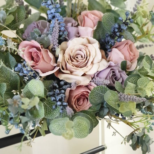 Artificial Hand-tied Bouquet