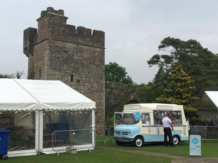 Buttercup - the Vintage Ice Cream Van