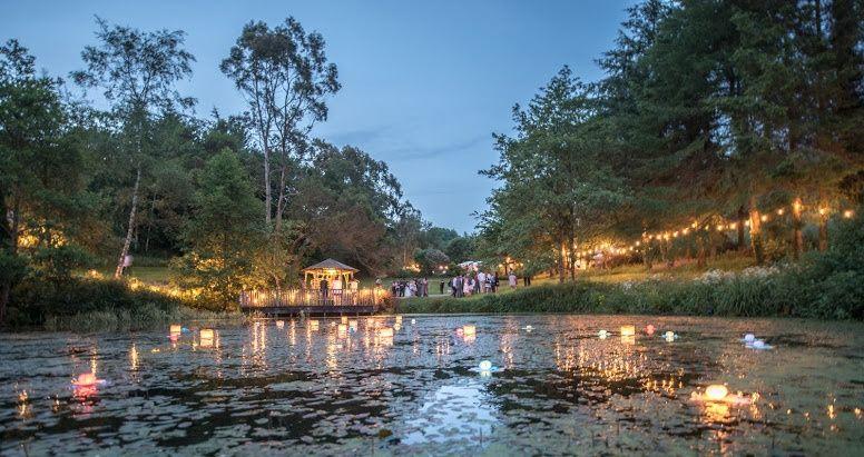 The Lake at dusk
