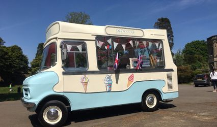 Buttercup - the Vintage Ice Cream Van