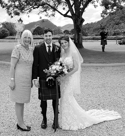 Cumbrian handfasting wedding