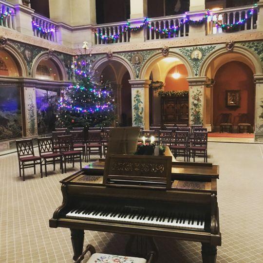 Christmas at Wallington Hall