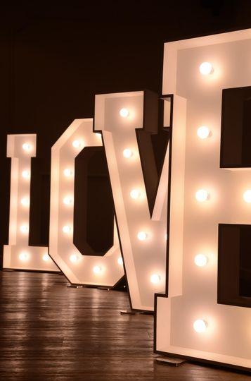 Love letter lights