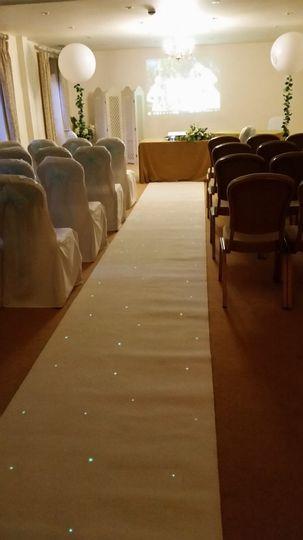 Starlight carpet runner