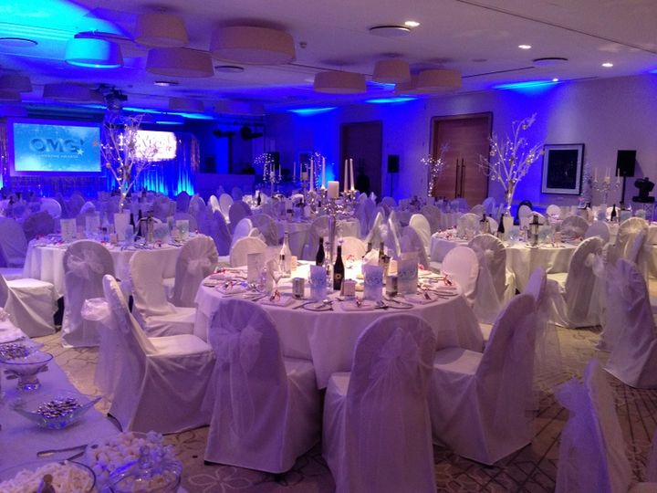 The wedding and event works interiors