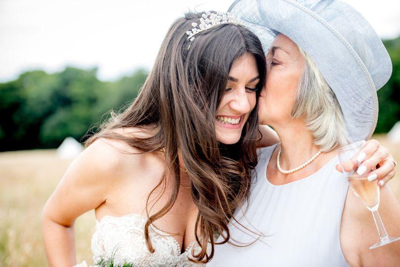Loving moment