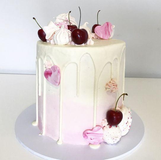 Ombre love cake