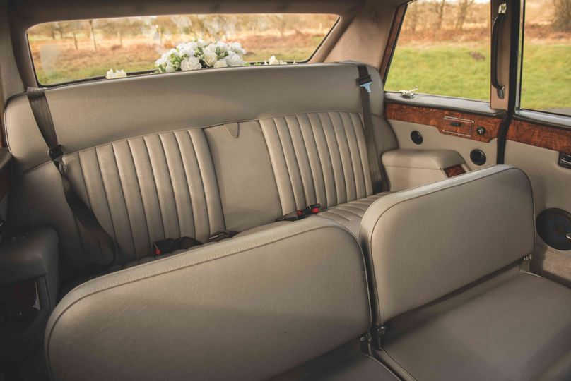 Interior of Daimlers