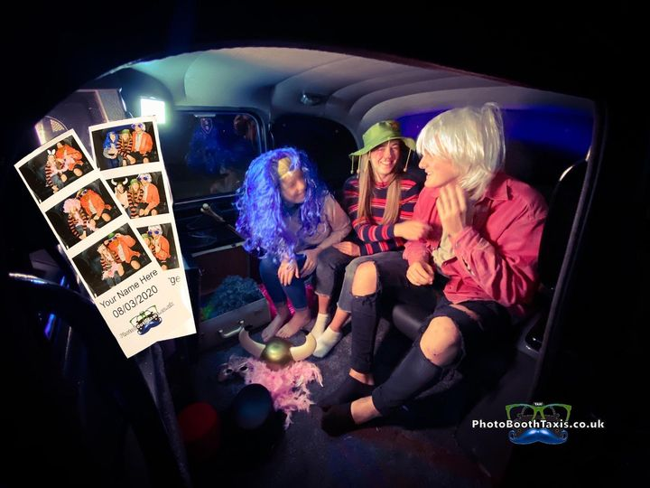 Photo Booth Taxis