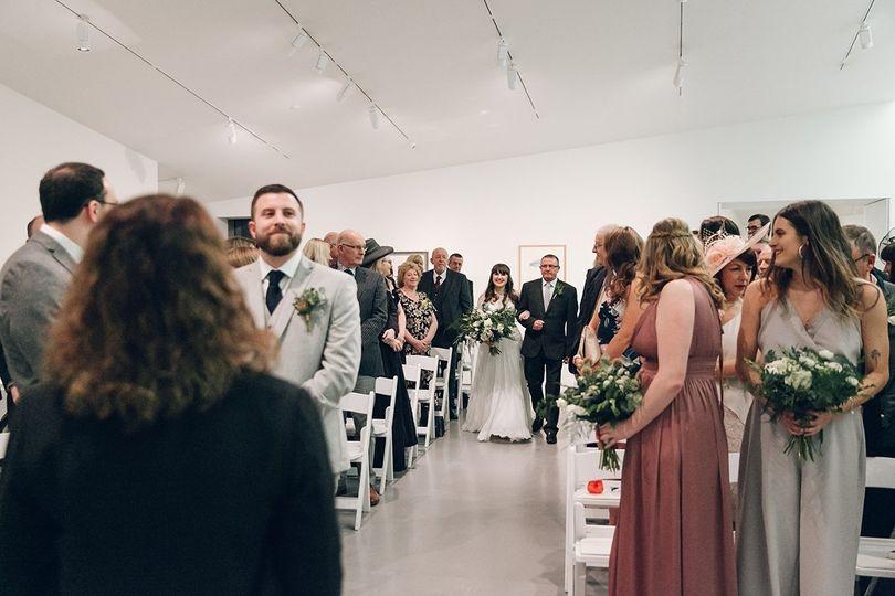 Ceremony - Image by India Hobson courtesy of James & Erin Falkingham
