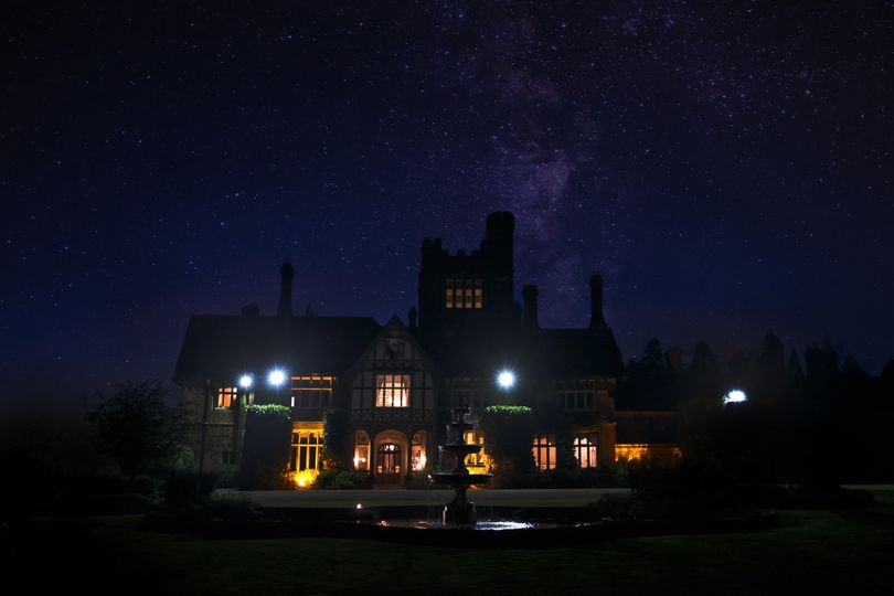Cowdray House by night
