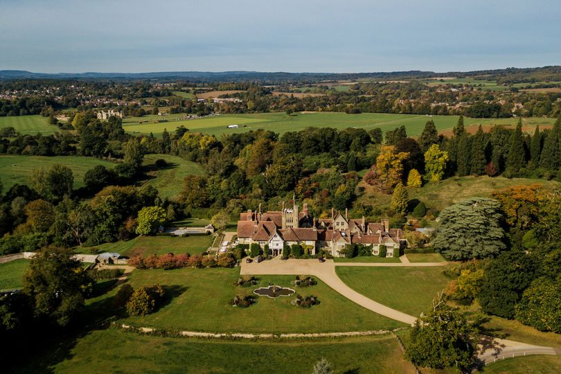 Autumnal Cowdray House