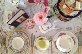 Pretty Vintage Crockery and Accessories Hire