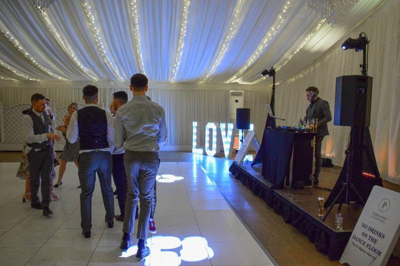DJ & LOVE letters